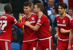 Video diễn biến trận đấu giữa Middlesbrough và Stoke City