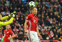 Video: Robben thăng hoa, Bayern vùi dập PSV