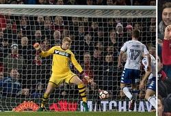 Video: Thắng đậm Wigan, Man Utd lọt vào vòng 5 FA Cup