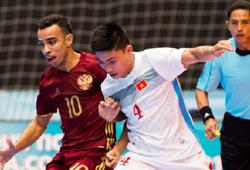 Video: Thua đậm Nga, Việt Nam kết thúc hành trình tại Futsal World Cup