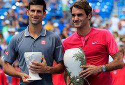 Cuộc đua giành 100 triệu USD tiền thưởng: Djokovic và Federer luận anh hùng