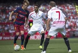 """02h30 (29/02), Barca - Sevilla: Rakitic, """"bảo mẫu"""" ở Nou Camp"""