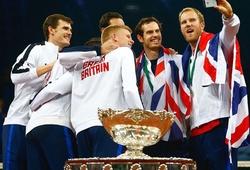 ĐT Vương Quốc Anh vô địch Davis Cup: Sử thi gọi tên Murray
