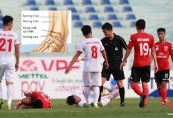 Cựu tuyển thủ U23 đốn gãy xương chày tuyển thủ U20 Việt Nam