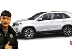Xuân Trường được Gangwon cấp dòng xe SUV gần 1 tỷ đồng