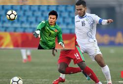 U23 Uzbekistan để thủ môn đá... tiền vệ trước U23 Việt Nam?