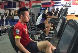 Cầu thủ Việt với cơn ác mộng thoát vị đĩa đệm