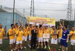 FC Đông Đô bảo vệ thành công chức vô địch Giải bóng đá PV thể thao Hà Nội