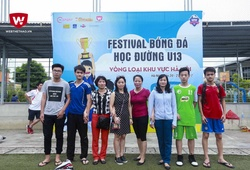 """Những CĐV """"độc nhất vô nhị"""" tại Festival U13 Bóng đá học đường"""