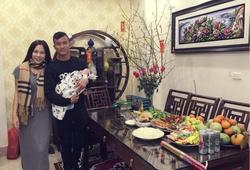Tiền vệ Mai Tiến Thành tổ chức tiệc đầy tháng cho con trai