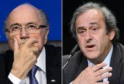 Sepp Blatter và Michel Platini thấp thỏm trước giờ phán quyết