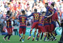 Vượt qua Real, các cầu thủ Barca được thưởng to