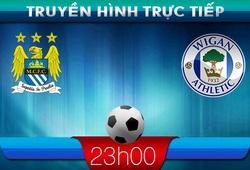 23h05 – 09/03 – Truyền hình trực tiếp: Manchester City vs Wigan