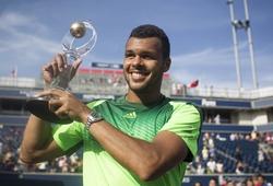 JO-WILFRIED TSONGA VÔ ĐỊCH ROGERS CUP 2014: Những cú knock-out của Muhammad Ali