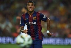 Em trai Thiago Alcantara tranh thủ 'lăng xê' trước mặt Messi