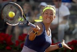 Victoria Azarenka 2-0 Caroline Wozniacki: Set hai kịch tính