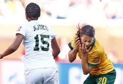 Pha bóng bạo lực nhất World Cup giành cho nữ