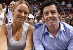 """Wozniacki phủ nhận """"đá xoáy"""" McIlroy"""