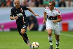 Bayern Munich 1-2 Augsburg: Thua ngược