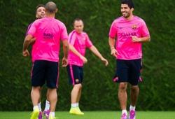 """""""Lần đầu"""" của Luis Suarez"""
