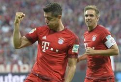 Bayern Munich 5-0 Hamburg SV: Món ăn nhẹ của Hùm
