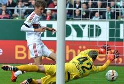 Werder Bremen 0-1 Bayern Munich: Một bàn là đủ