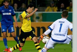 Borussia Dortmund 7-1 Paderborn: Hủy diệt