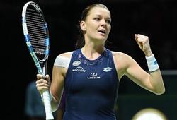 """Agnieszka Radwanska vô địch WTA Finals: Tennis """"du kích"""" lên ngôi"""
