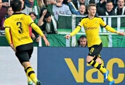 Werder Bremen 1-3 Borussia Dortmund: Người hùng Marco Reus