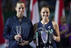 Petra Kvitova 1-2 Agnieszka Radwanska