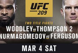 UFC 209: Woodley giữ đai Welterweight, Vannata thua thất vọng