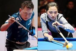 """Mã Minh Cẩm đánh bại """"mỹ nhân billiards"""" Hàn Quốc tại giải PBA Team League"""