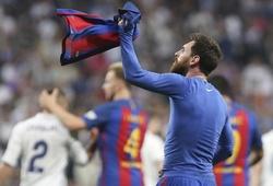 Messi lần đầu đến Di Stefano trong vai kỷ lục gia Siêu kinh điển
