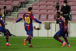 Messi liên tiếp ghi bàn trên sân tập trước trận Siêu kinh điển
