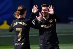 Messi truyền cảm hứng để Griezmann giúp Barca ngược dòng