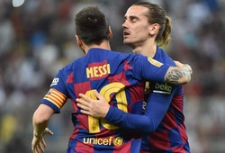 Barca mất một nửa số bàn thắng khi không còn Messi và Griezmann