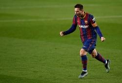 Kỷ lục của Pele đã được Messi cân bằng với Barca
