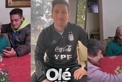 """Messi gửi lời tri ân tới cụ ông 100 tuổi """"lưu trữ"""" toàn bộ bàn thắng"""