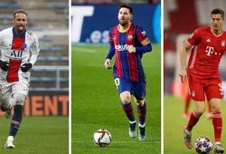 Messi xuất sắc hơn Neymar và Lewandowski thông qua dữ liệu