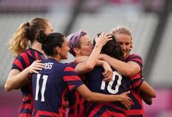 Tuyển Mỹ hoàn tất bộ sưu tập huy chương bóng đá nữ Olympic