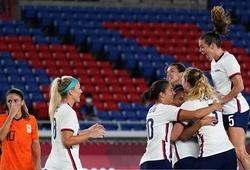 Bóng đá nữ Mỹ vào bán kết Olympic nhờ người hùng bắt penalty
