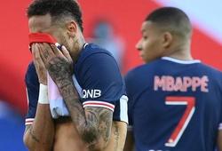 Xem Neymar bị đuổi khỏi sân sau khi trả đũa cầu thủ Lille