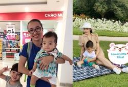 """""""Nữ hoàng điền kinh Việt Nam"""" với gia đình hạnh phúc sau giải nghệ"""