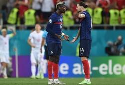 Nội bộ tuyển Pháp rối ren ngay trên sân trong trận thua Thụy Sĩ