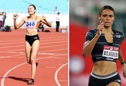 Quách Thị Lan so tài cùng kỷ lục gia thế giới 400m rào tại Olympic Tokyo