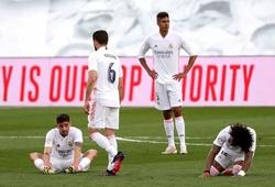 Real Madrid chịu kết cục tệ chưa từng thấy sau hơn 1 thập kỷ