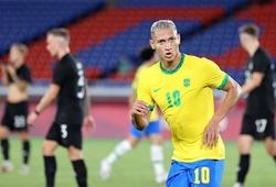 Richarlison áp sát Neymar và hướng tới kỳ tích mới ở Olympic