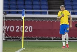 Richarlison bị Argentina khiêu khích sau khi lập hat-trick ở Olympic