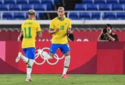 Richarlison và các cầu thủ mặc áo số 10 của Brazil ở Olympic