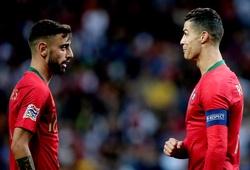 Ronaldo chơi ở đâu trên hàng công trong đội hình MU?